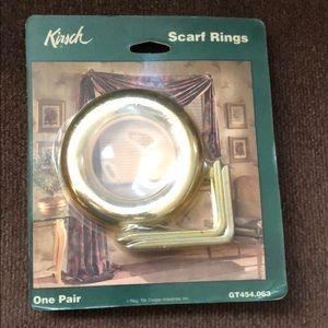 Kirsch Scarf Curtain Ring Set